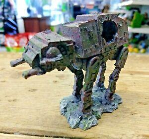 """Space Dog """"Star Wars Style AT AT"""" Small Aquarium Fish Tank Ornament"""