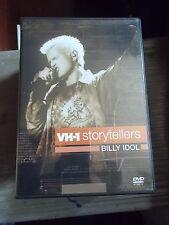 """BILLY IDOL """"VH-1 STORYTELLERS"""" DVD 2002"""