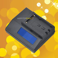 Quick Battery Charger for Sony NP-F930 NP-F930/B NP-F950 F950/B NP-F960 NP-F970