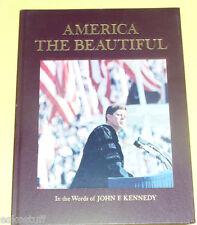 America The Beautiful in the Words of John F. Kennedy 1964 History  Nice SEE!