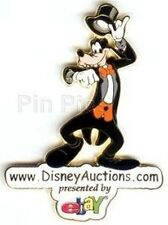 Formal Goofy Tipping Top Hat Disney Auctions Logo Le 5000 Gwp 2004 Gift Pin