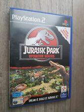 Ps2 Operation Genesis Jurassic Park playstation 2