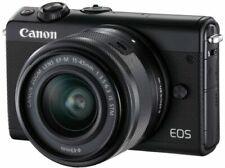 Canon EOS m100 negro con ef-m 15-45 mm objetivamente B-Ware distribuidores m 100