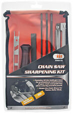 ChainSaw Sharpening Kit Chain saw File Tool Set Guide Bar File With Instruction