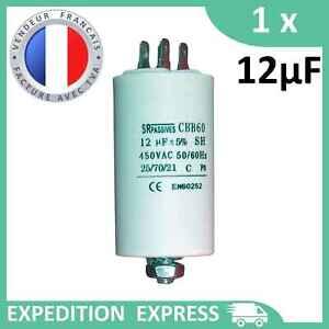 Condensateur moteur Fils SRpassives CBB60 330con620 450v 2.5uf