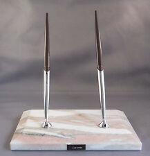 Sheaffer Double Ball Pen Desk Set--new pens- sockets-refills
