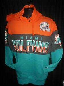 Miami Dolphins  NFL Men's G-III Hooded Pullover Sweatshirt