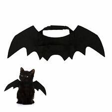 Black Vampire Bat Wings for Pet Cat Small Dog Halloween Cute Fancy Dress Costume