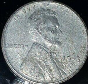 1943 Error Penny Missing/light #4