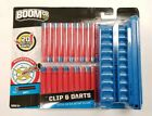 BOOMCO Clip and 20 Smart Stick Darts Pack for all clip system blasters Soft Tip