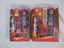 "Vi and Va Two Valentina 9""Dolls One Hair Stylist/ One w/Empanadas NIB - Lot #4"