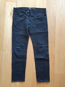 Edwin ED-80 Slim Tapered Jeans Black Japanese Denim 34/32