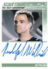 STAR TREK TNG PORTFOLIO PRINTS SERIES 1 - RUDOLPH WILLRICH AUTOGRAPH LIMITED