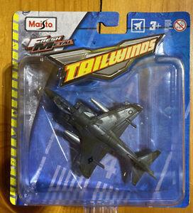 Tailwinds Maisto Fresh Metal Marines Black AV-8B Harrier II Fighter Jet