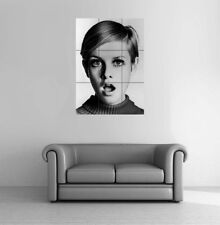 Modèle TWIGGY SIXTIES Giant Poster Art Print