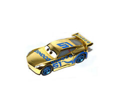 Disney Pixar Movie Cars 3 Diecast Golden # 51 Racer Cruz Ramirez 1:55 Toy Car