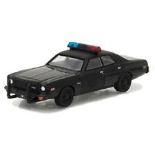 GREENLIGHT – DODGE – CORONET POLICE 1976 – BLACK BANDIT