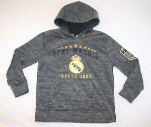 Real Madrid Soccer Hoodie Sweat Shirt Youth M