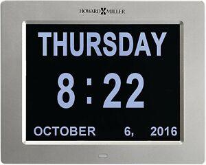 "Bargain! TWO (2) NEW HOWARD MILLER TABLE/WALL DIGITAL CLOCK CALLED ""MEMORY"""