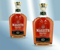 "Brandy Weinbrand de Lux ""Magister"" 40% 0,5L Брэнди ""Магистр"" молдавский коньяк"