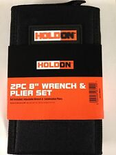 "Holdon 2 Pack 8"" Wrench and Plier Set with case"