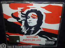 MADONNA - AMERICAN LIFE cd rosso2003CDS