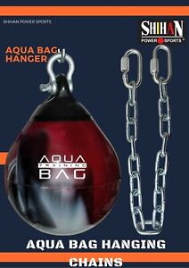 "Aqua Punch Bag 24"" chains Water Filled Boxing Bag hanging chain Shihan Power"