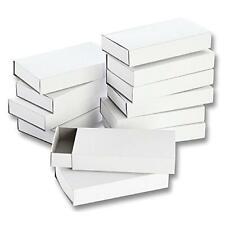 folia 2407 – Matchboxes Blank Large 12 Pack White