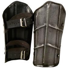Dark Drake Arm Bracers, M, Knight, LARP, Medieval, Cosplay, Armour, Steel