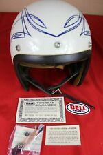 Vintage Bell Toptex  Motorcycle  Helmet  7 1/2