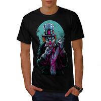 Wellcoda Clow Evil Scary Horror Mens T-shirt,  Graphic Design Printed Tee