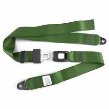2pt Army Green Lap Seatbelt Standard Buckle - Each harness STBSB2LSAG street