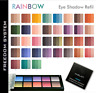 INGLOT Freedom System Trio Eye Shadow RAINBOW square refill 2.5g   All colours