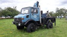 Unimog U1500 BM 425 mit Hiab Ladekran