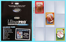 "100 ULTRA PRO 9 POCKET PLATINUM MINI Card PAGES 3-1/8"" x 2-1/4"" sports sheets"
