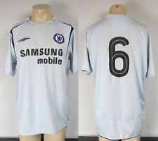 Chelsea 2005-06 away shirt player issue #6 (Carvalho) soccer jersey size L