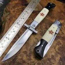 "Knife S Combat Custom Russian NKVD Steel Forged Finka Soviet Era ""FINKA"" Premium"