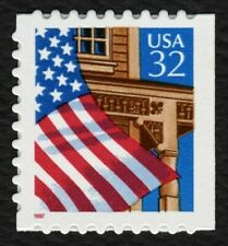 #2921b 32c Flag Over Porch, Mint **ANY 4=FREE SHIPPING**