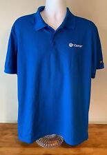 Cerner Employee Short Sleeved Blue Polo Shirt - XL