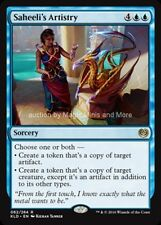 Kaladesh ~ SAHEELI'S ARTISTRY rare Magic card