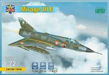 Dassault Mirage III (3 Topper + AN-52) Modelsvit 1/72 Plastic Kit