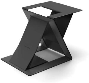 MOFT Z Invisible Thin Sit-Stand Desk, Portable, Ajustable Sit-Stand Angles Black