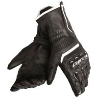 Dainese Assen Leather Motorcycle Motorbike Race Gloves Black NEW SALE