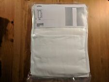 2 Continuous White Curtain Sheer LILL Curtains IKEA NEW Home Decoration