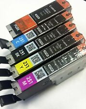Canon OEM Genuine PGI-250 & CLI-251 Colors (CMY) and PGI/CLI Black Ink Cartridge