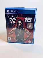 WWE 2K18 (Sony PlayStation 4, 2017) PS4 2K18 Wrestling