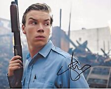 ACTOR WILL POULTER SIGNED DETROIT MOVIE 8x10 PHOTO COA KRAUSS WE'RE THE MILLERS