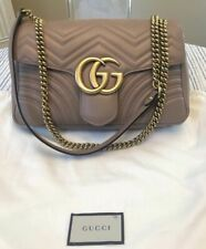 ?? Gucci Marmont medium matelass¨¦ shoulder bag Nude / Porcelain Rose ??