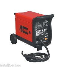 SALDATRICE TELWIN A FILO CONTINUO Mig-Mag Flux 230V Gas/no Gas Bimax 162 Turbo