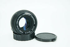 Olympus OM-SYSTEM Zuiko Auto-S 50mm f/1.8 Prime Camera Lens